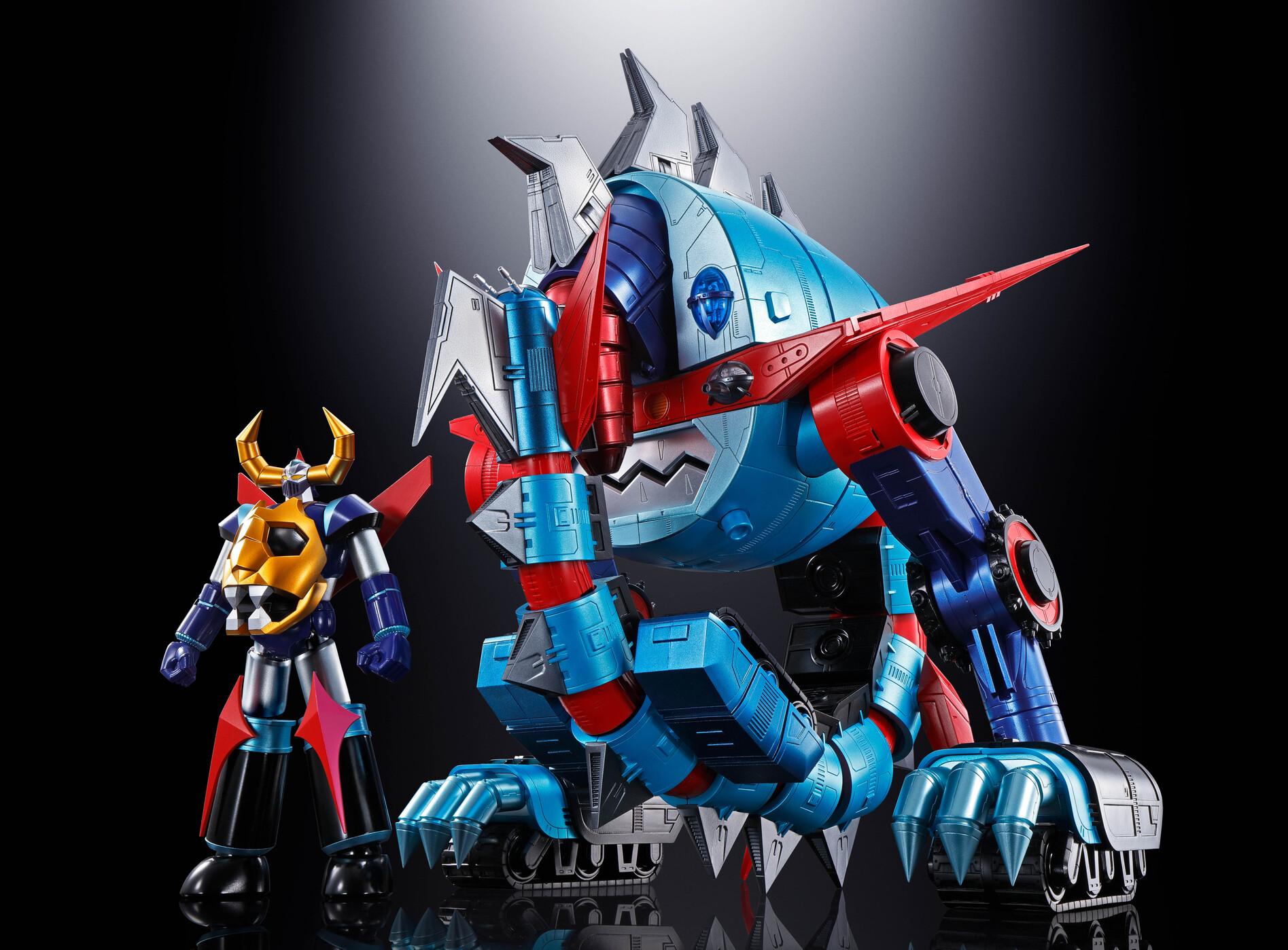 Figurine Soul of Chogokin GX-100 Gaiking & Daiku Maryu Bandai 17-75cm
