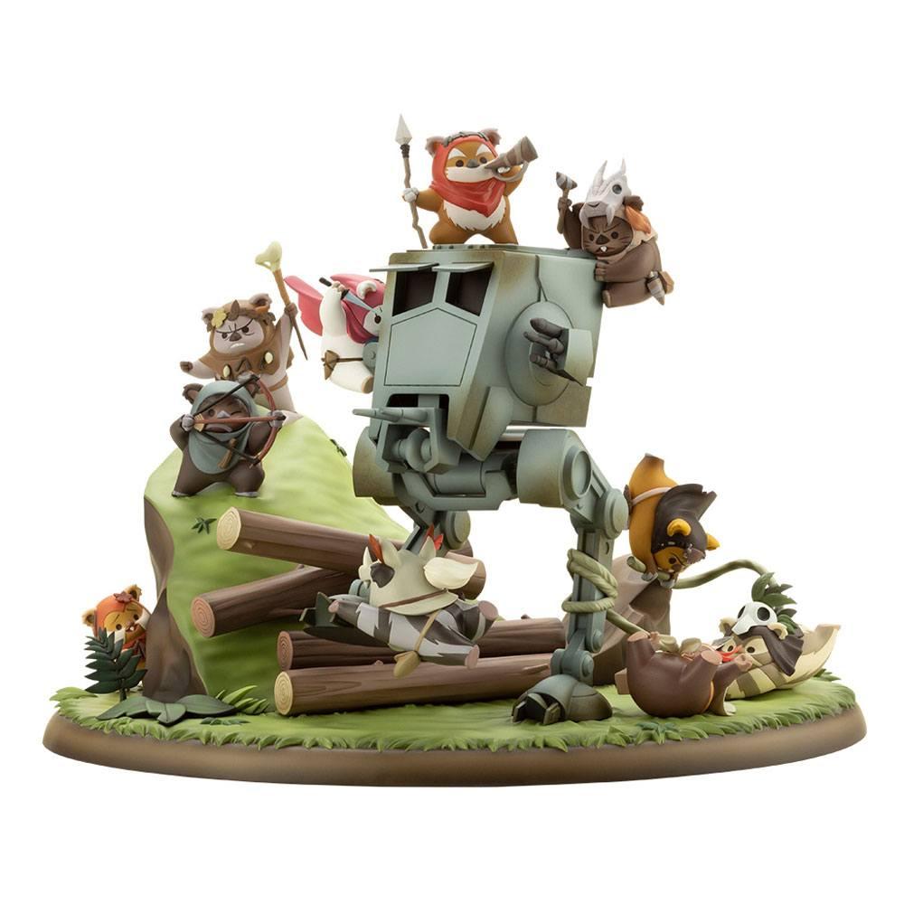 Statuette Star Wars ARTFX Battle of Endor The Little Rebels 19cm