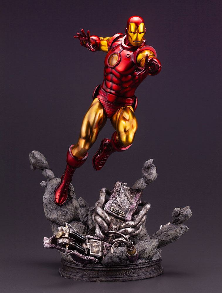 Statuette Marvel Avengers Fine Art Iron Man 42cm 1001 Figurines (1)