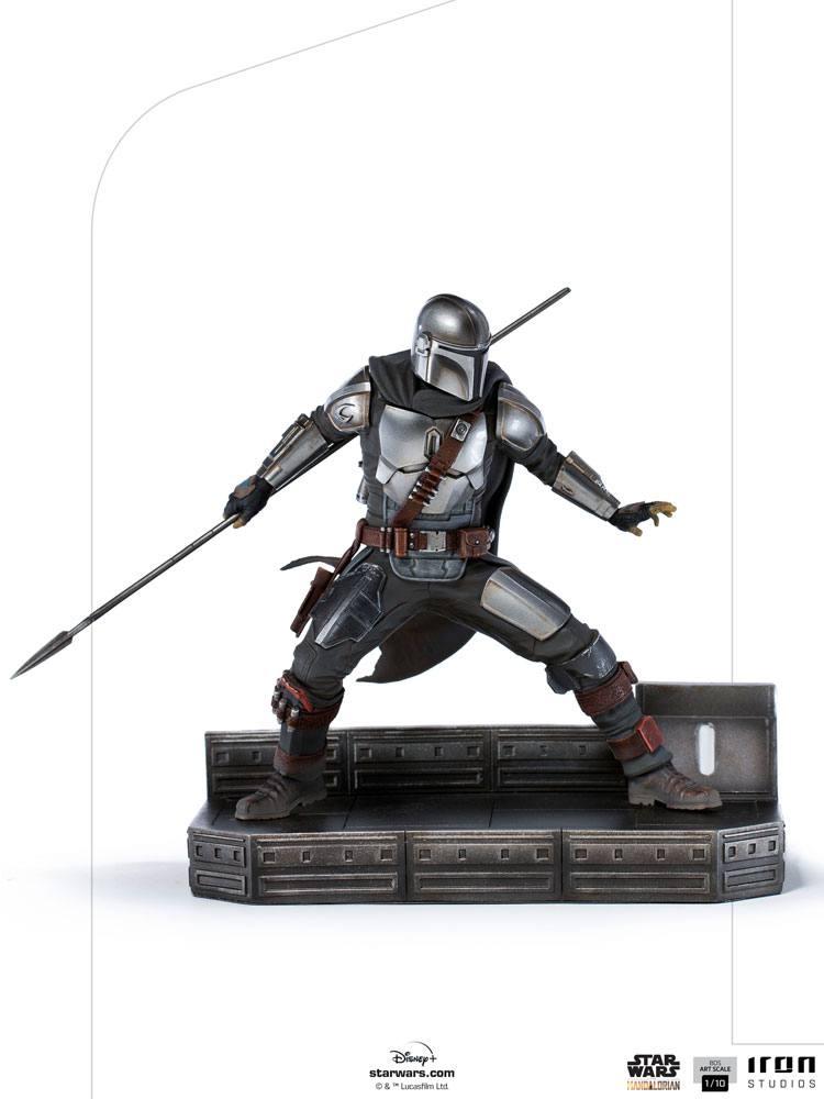 Statuette Star Wars The Mandalorian BDS Art Scale Mandalorian 20cm 1001 Figurines (1)
