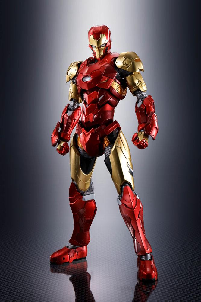 Figurine Tech-On Avengers S.H. Figuarts Iron Man 16cm