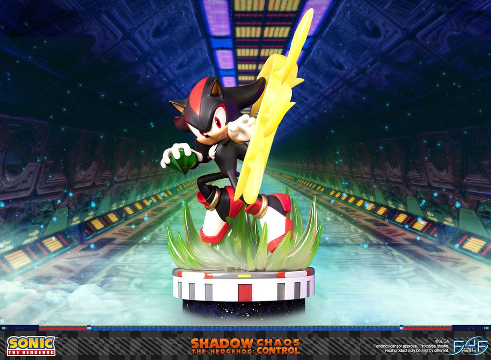 Statuette Sonic the Hedgehog Shadow the Hedgehog Chaos Control 50cm