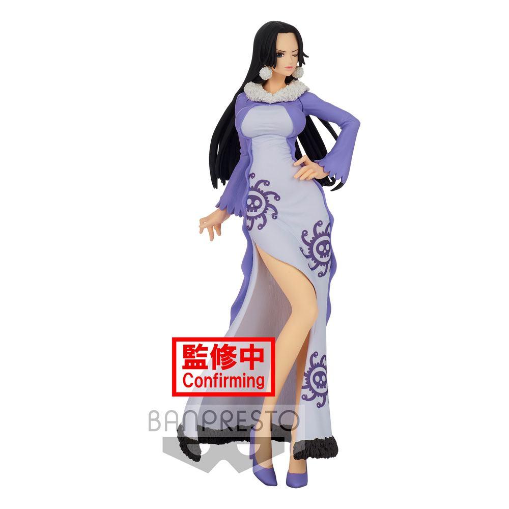 Statuette One Piece Glitter & Glamours Boa Hancock Winter Style Ver. B 25cm