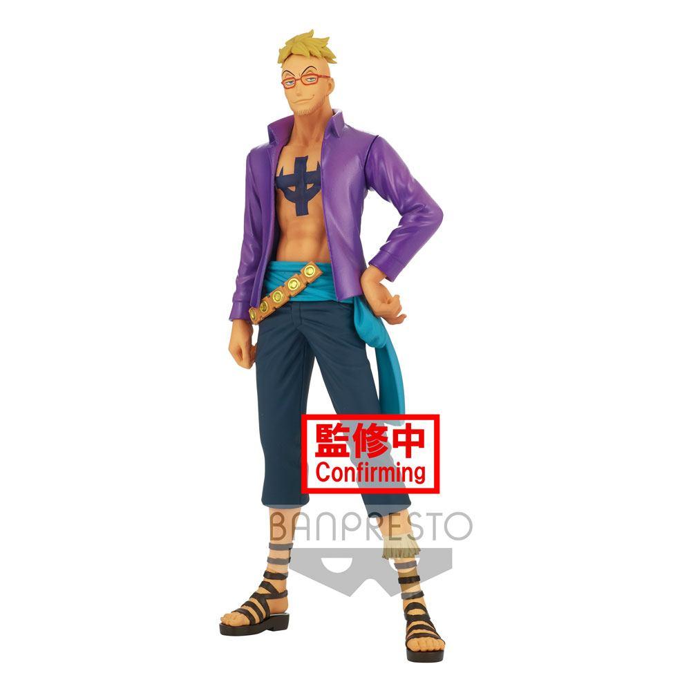 Statuette One Piece DXF Grandline Men Wanokuni Marco 17cm