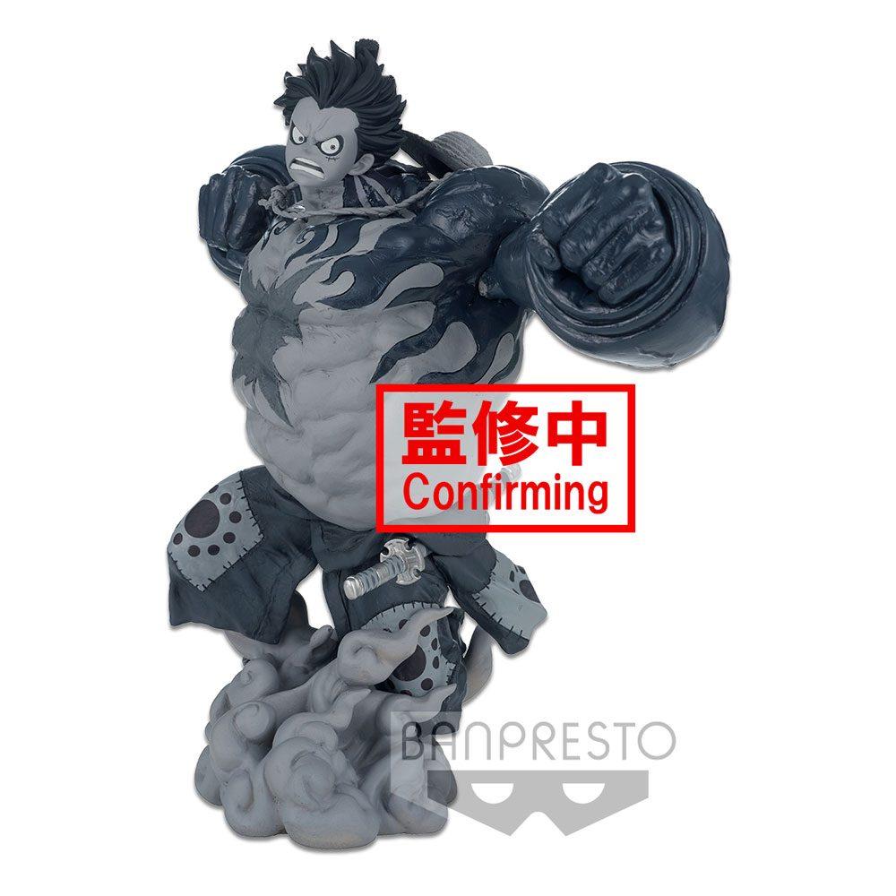 Statuette One Piece BWFC 3 Super Master Stars Piece Monkey D. Luffy Gear4 The Tones 22cm