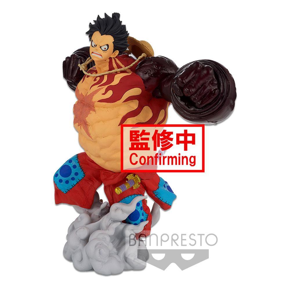 Statuette One Piece BWFC 3 Super Master Stars Piece Monkey D. Luffy Gear4 The Original 22cm