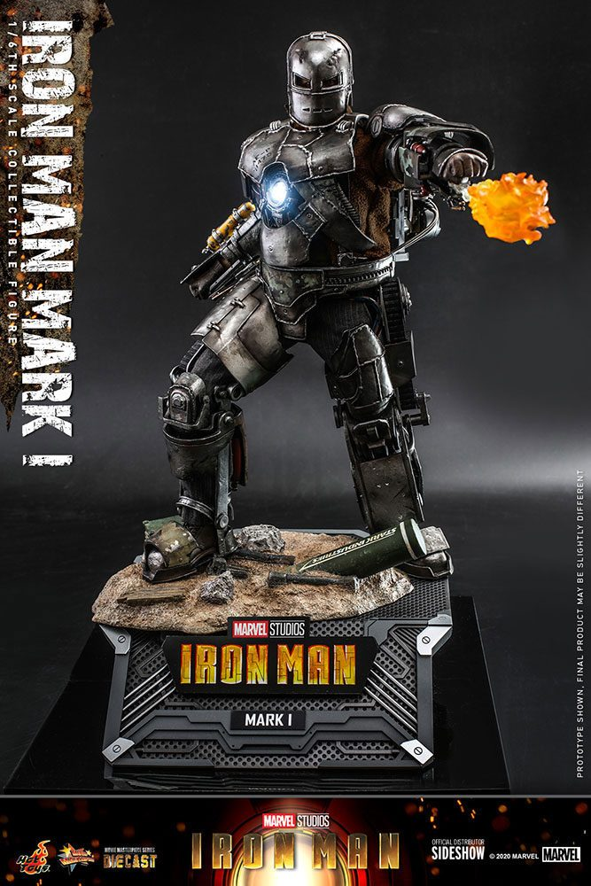 Figurine Iron Man Movie Masterpiece Iron Man Mark I 30cm