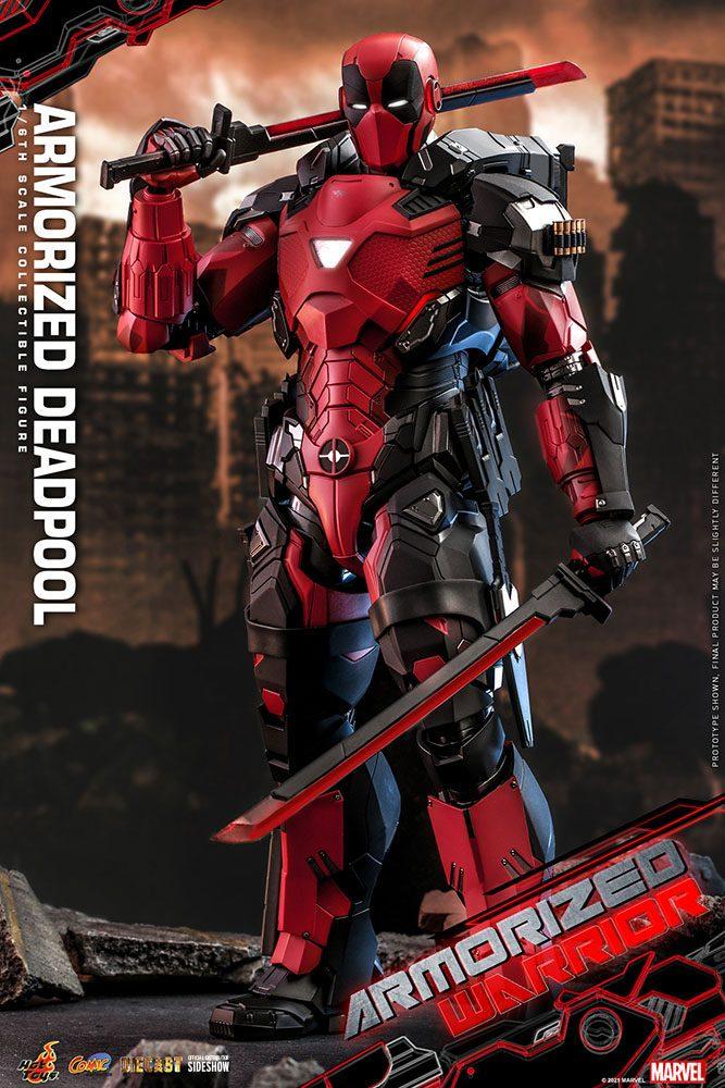 Figurine Marvel Comic Masterpiece Armorized Deadpool 33cm