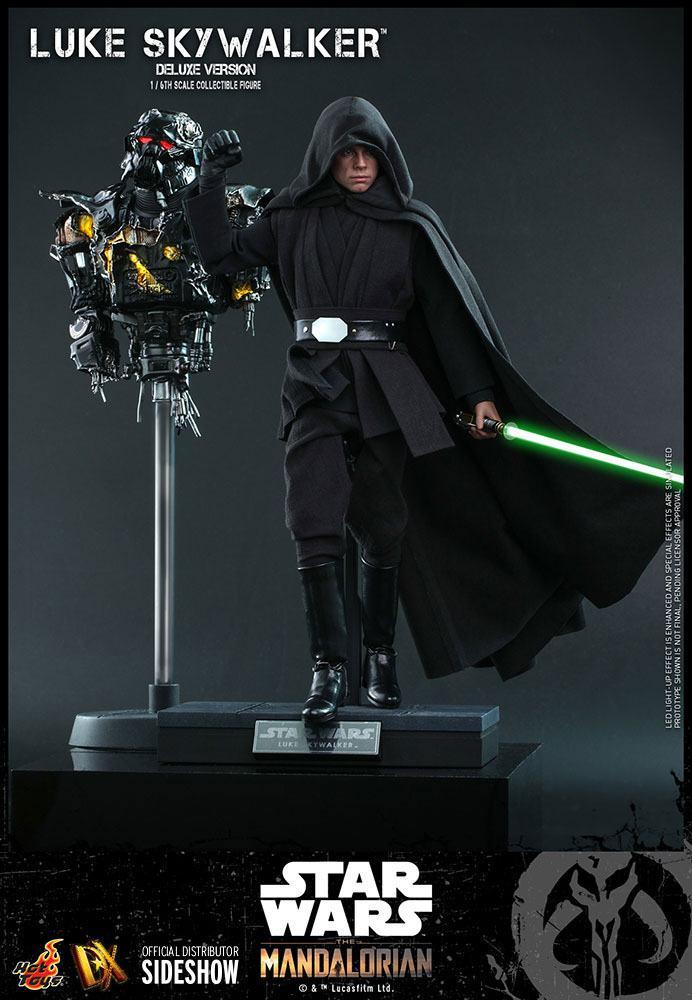 Figurine Star Wars The Mandalorian Luke Skywalker Deluxe Version 30cm