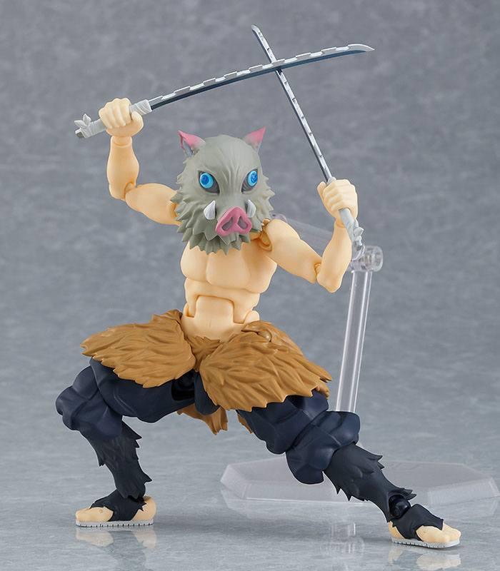 Figurine Figma Demon Slayer Kimetsu no Yaiba Inosuke Hashibira 14cm