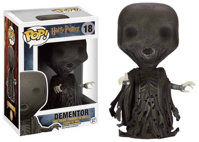Figurine Harry Potter Funko POP! Dementor 9cm 1001 Figurines
