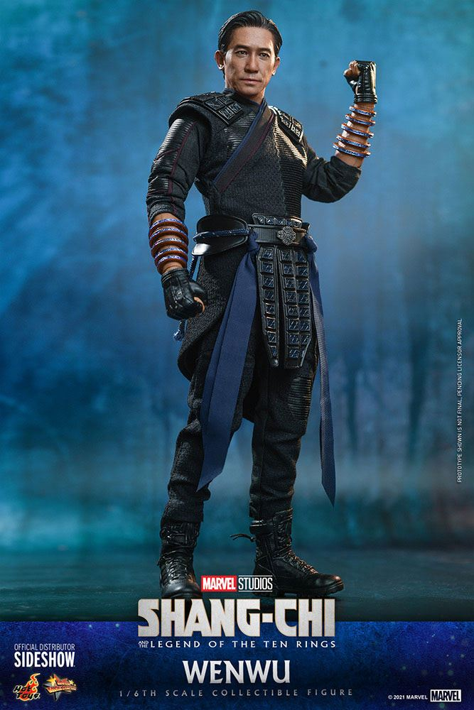 Figurine Shang-Chi and the Legend of the Ten Rings Movie Masterpiece Wenwu 28cm