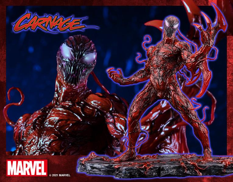 Statuette Marvel Universe ARTFX+ Carnage Renewal Edition 20cm