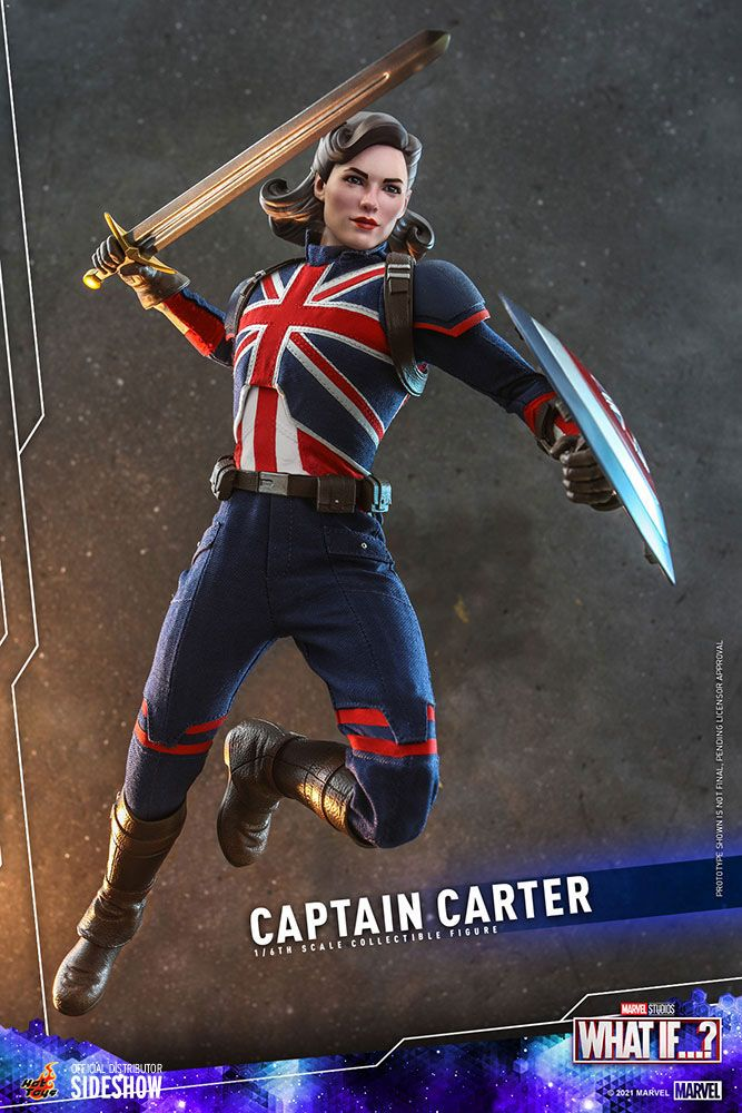 Figurine What If...? Captain Carter 29cm