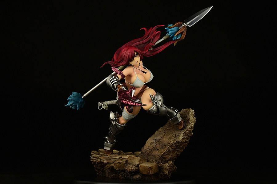 Statuette Fairy Tail Erza Scarlet the Knight Ver. Refine 2022 31cm