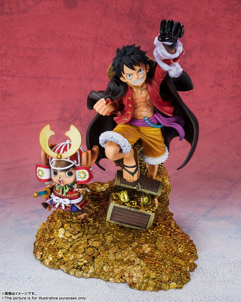 Statuette One Piece Figuarts ZERO Monkey D. Luffy by Eiichiro Oda WT100 Daikaizoku Hyakkei 19cm
