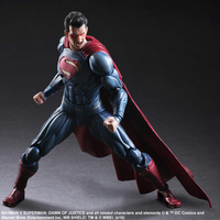 Figurine Batman v Superman Dawn of Justice Play Arts Kai Superman 25cm