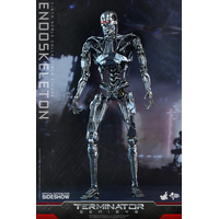 Figurine Terminator Genisys Movie Masterpiece Endoskeleton 33cm
