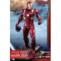 Figurine Captain America Civil War Movie Masterpiece Diecast Iron Man Mark XLVI 32cm