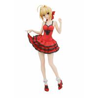 Statuette Fate/Extra CCC Saber Crimson Modern Costume 25cm