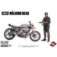 Figurine The Walking Dead  Daryl Dixon avec Chopper 18cm