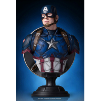 Buste Captain America Civil War Captain America 18cm