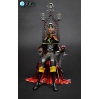 Statue Albator Captain Harlock sur trône 25cm