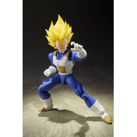 Figurine Dragon Ball Z SH Figuarts Vegeta Super Saiyan 14cm