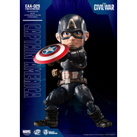 Figurine Captain America Civil War Egg Attack Captain America 15cm