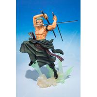 Figurine One Piece S.H. Figuarts Zero Roronoa Zoro version Ultragari 15cm