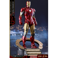 Figurine Les Avengers Movie Masterpiece Diecast Iron Man Mark VI 32cm