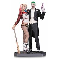 Statuette Suicide Squad Joker & Harley Quinn 30cm