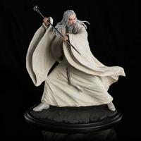 Statuette Le Hobbit La Bataille des Cinq Armées Saruman the White at Dol Guldur 35cm