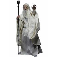 Figurine Le Seigneur des Anneaux Saruman le blanc (Memorial Slim Version) 32cm
