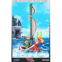 Statue The Legend of Zelda The Windwaker - Link on The King of Red Lions