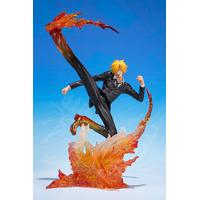Figurine One piece S.H. Figuarts Zero Sanji Extra Battle 16cm
