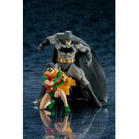 Pack 2 statuettes DC Comics ARTFX+ Batman & Robin 16cm