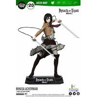 Figurine Attack on Titan Color Tops Mikasa Ackerman 18cm
