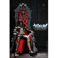 Figurine Albator Captain Harlock avec Trône Arcadia 30 cm