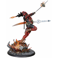 Statuette Marvel Comics Premium Format Deadpool Heat-Seeker 61cm