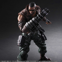 Figurine Final Fantasy VII Remake Play Arts Kai No. 2 Barret Wallace 30cm
