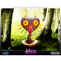 Réplique Masque Legend of Zelda Majora's Mask 3D 63cm
