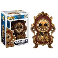 Figurine La Belle et la Bête Funko POP! Cogsworth 9cm