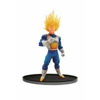 Figurine Dragon Ball Super Scultures Big Budoukai 6 Super Saiyan Vegeta 17cm