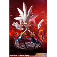 Statue Sonic the Hedgehog Silver the Hedgehog 44cm