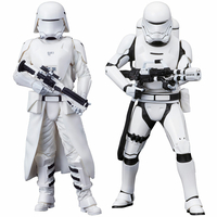 Pack 2 statuettes Star Wars Episode VII ARTFX+ First Order Snowtrooper & Flametrooper 18cm