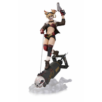 Statuette DC Comics Bombshells Deluxe Harley Quinn 37cm