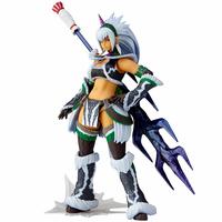 Figurine Monster Hunter X Vulcanlog Monhan Revo Hunter Swordswoman Kirin U Series 16cm