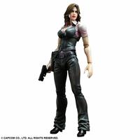 Figurine Resident Evil 6 Play Arts Kai Helena Harper 23 cm