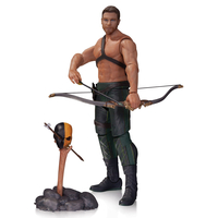 Figurine Arrow Oliver Queen & Totem 17 cm